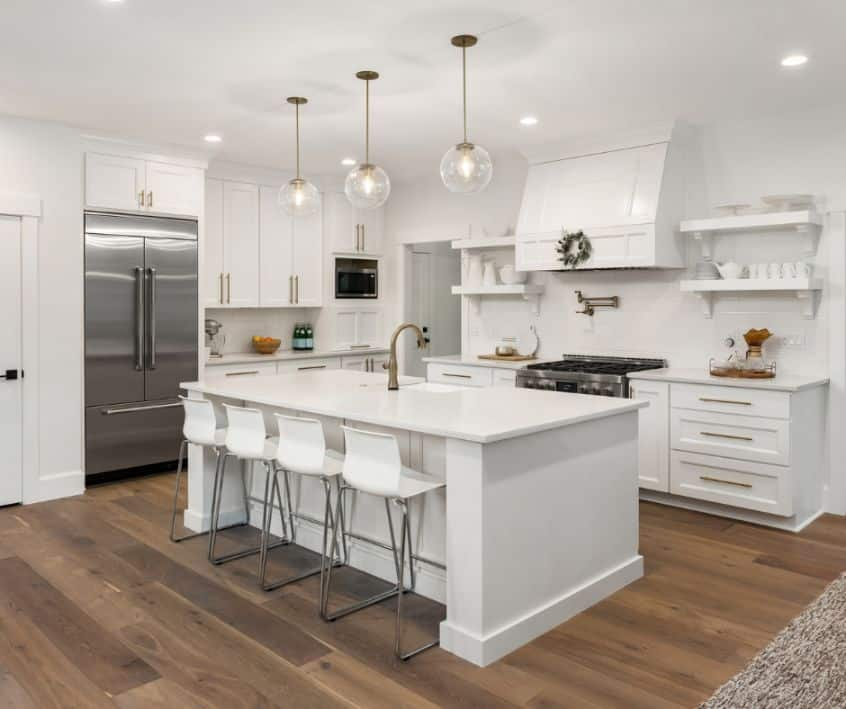 Renovations in Your Kitchen and Bathroom