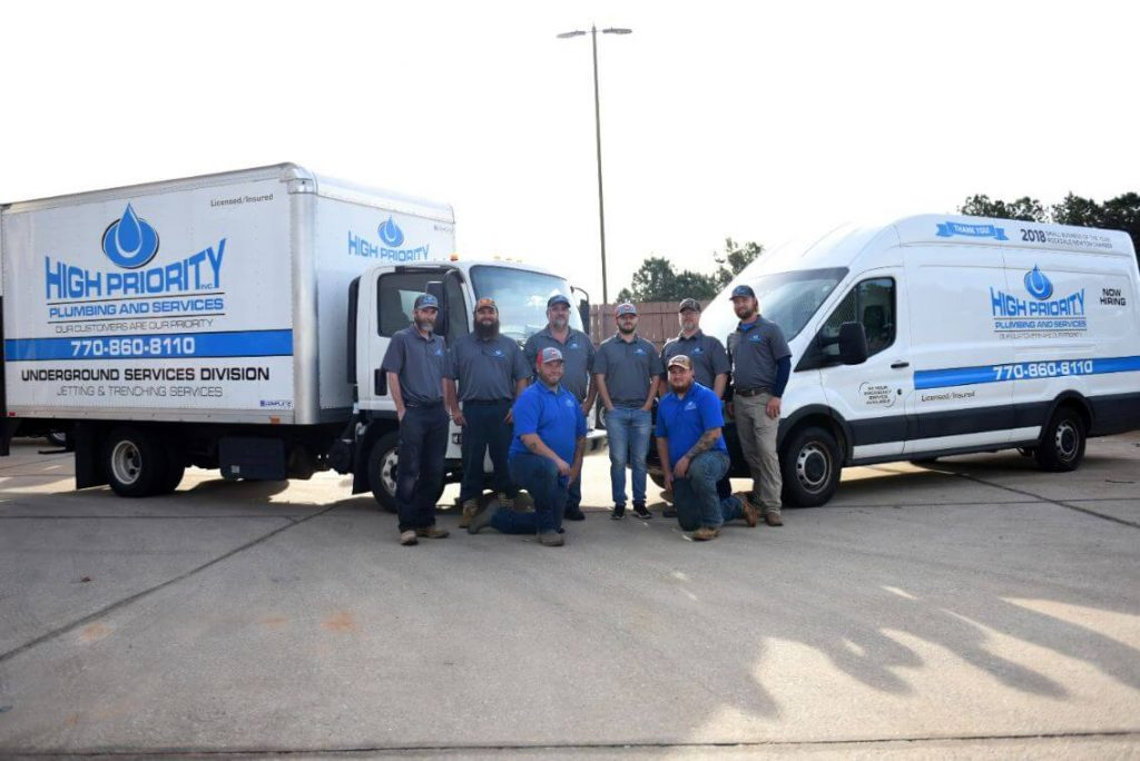 High Priority Plumbing Services Team