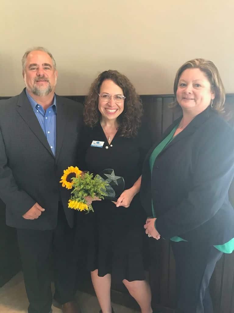 Brian, Paulette, and Brenda - Volunteer of the year